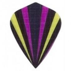 Purple Multi Flash Kite Rip Stop