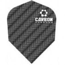 Harrows Carbon Grey Darts Flight