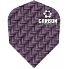 Harrows Carbon Purple Darts Flight